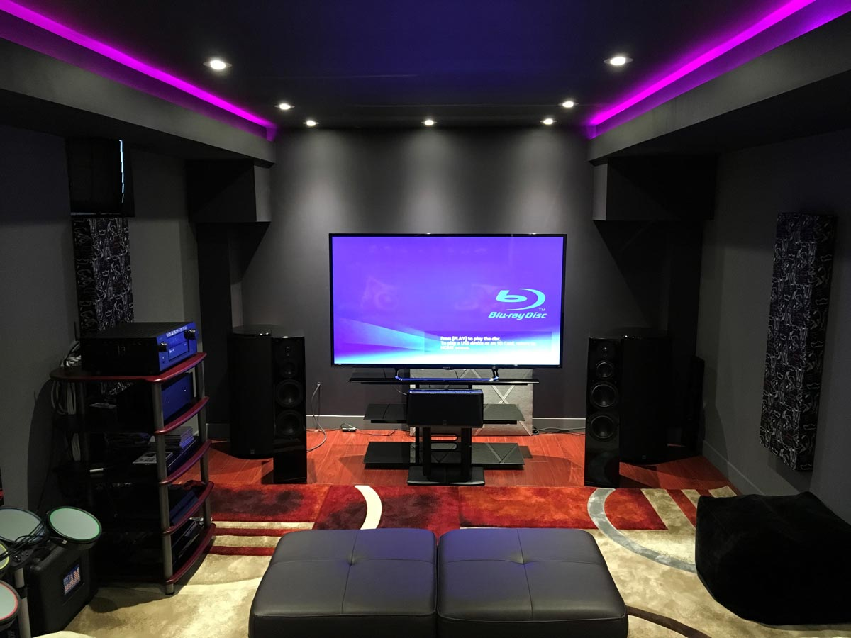 Featured Home Theater System Ray In Toronto Ontario Svs