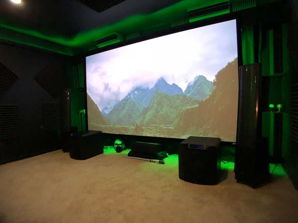 Svs Featured Home Theater System Nathaniel In Dallas Tx Wiring A Projection Tv