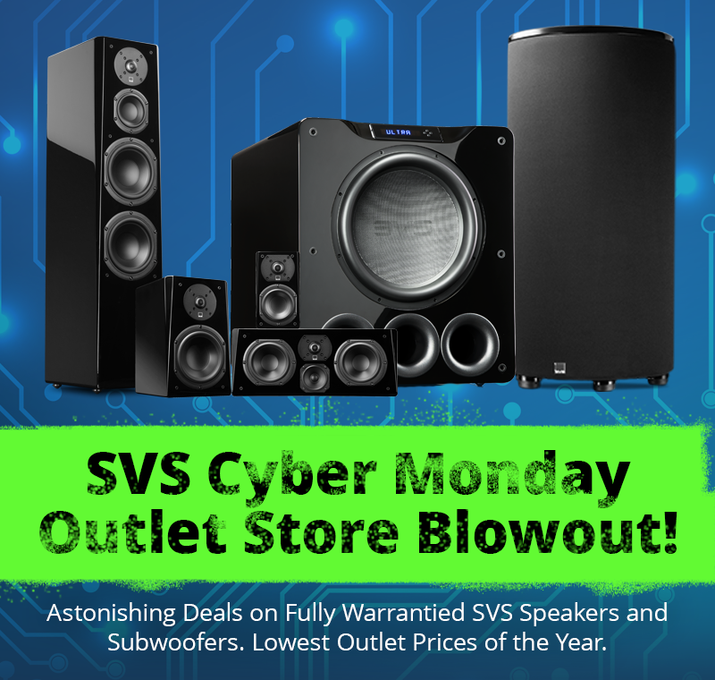 November 2018: SVS Cyber Monday Outlet Store Blow-Out Sale, 3000 Serie