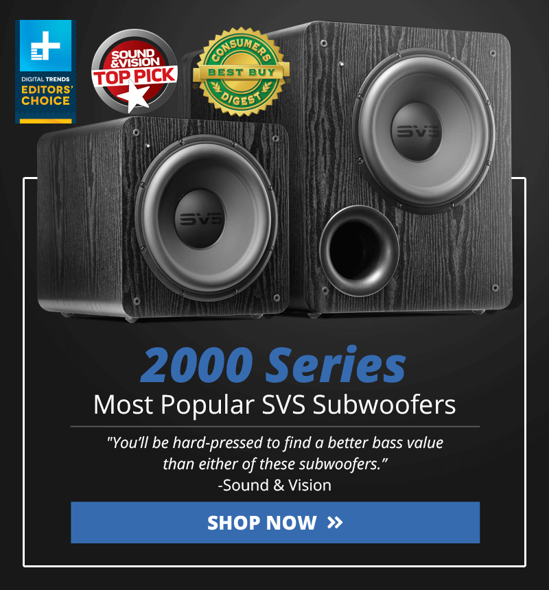 2000 Series Subwoofers. Links to the 2000 Series Subwoofers category page.
