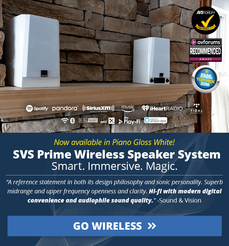 Prime Wireless White Gloss
