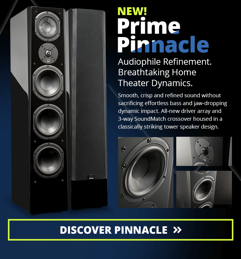 Prime Pinnacle Tower Speaker image. Links to the Prime Pinnacle Tower product page.