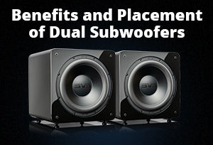 Benefits and Placement of Dual Subwoofers