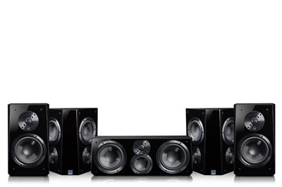 Prime Bookshelf Surround Package - SVS Home Theater Loudspeaker System