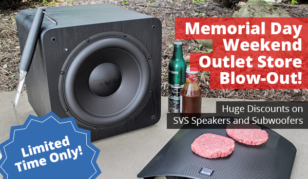 May 2018: Sizzling SVS Memorial Day Outlet Store Blow-out Event Starts