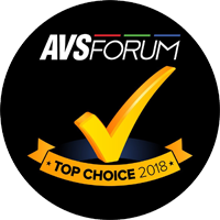 AVForum Top Choice 2018 Award