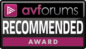 AVForum Recommended Award