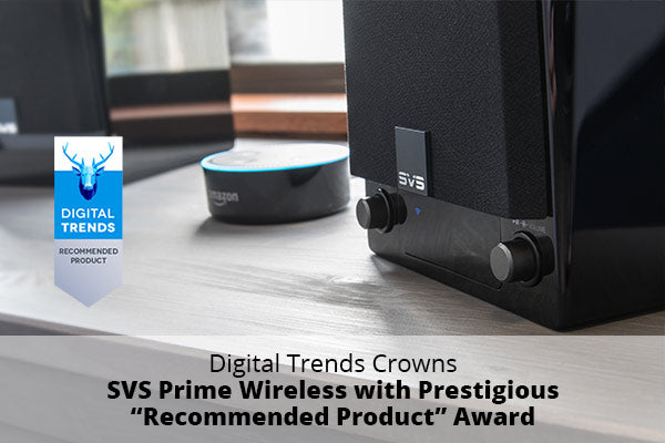 Prime Wireless Powered Speaker System