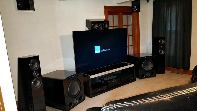 Video And Tv Cast For Samsung >> Dual SB16-Ultra Subwoofers Anchor Ultra 7.2.2 Home Theater ...