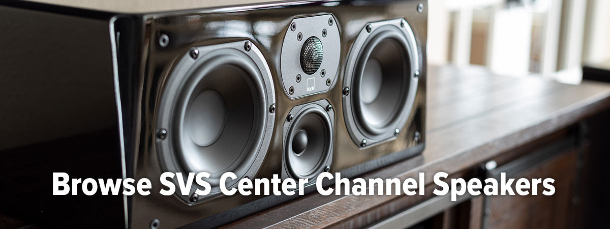 Browse all SVS Center Speakers