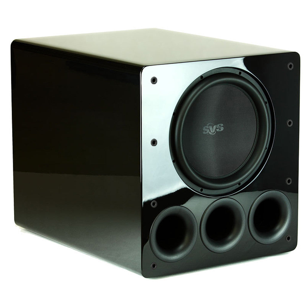 svs pb13 ultra subwoofer ported box home subwoofer home stereo hook up subwoofer piano gloss black