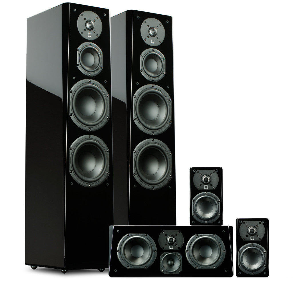 svs prime tower surround sound system | home theater speakers