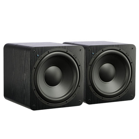 Dual Subwoofers, Sealed