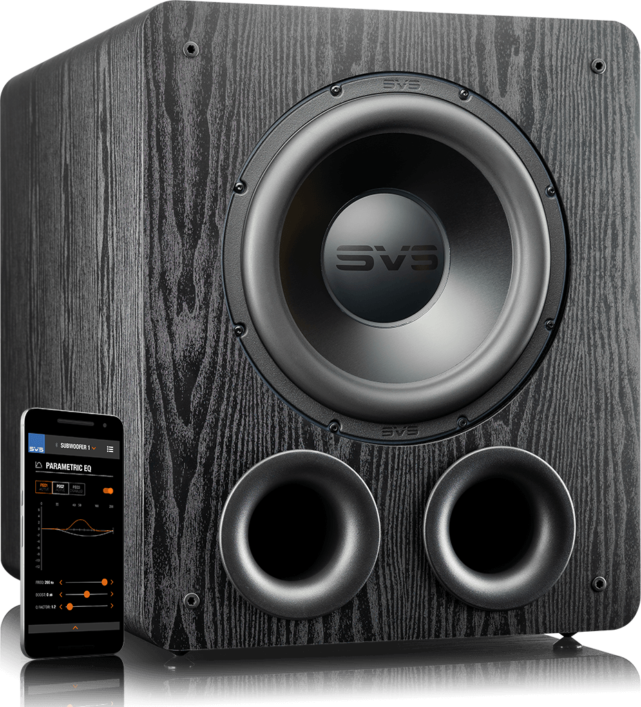 PB-2000 Pro Subwoofer in Premium Black Ash
