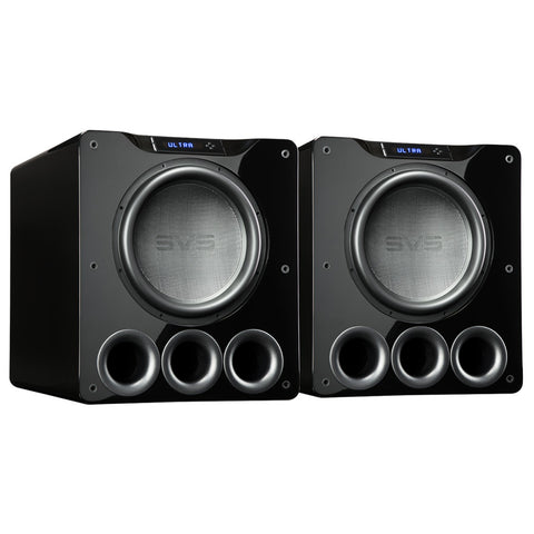 SVS Dual PB16-Ultra Subwoofers | 16-inch Driver | 1,500 Watts RMS