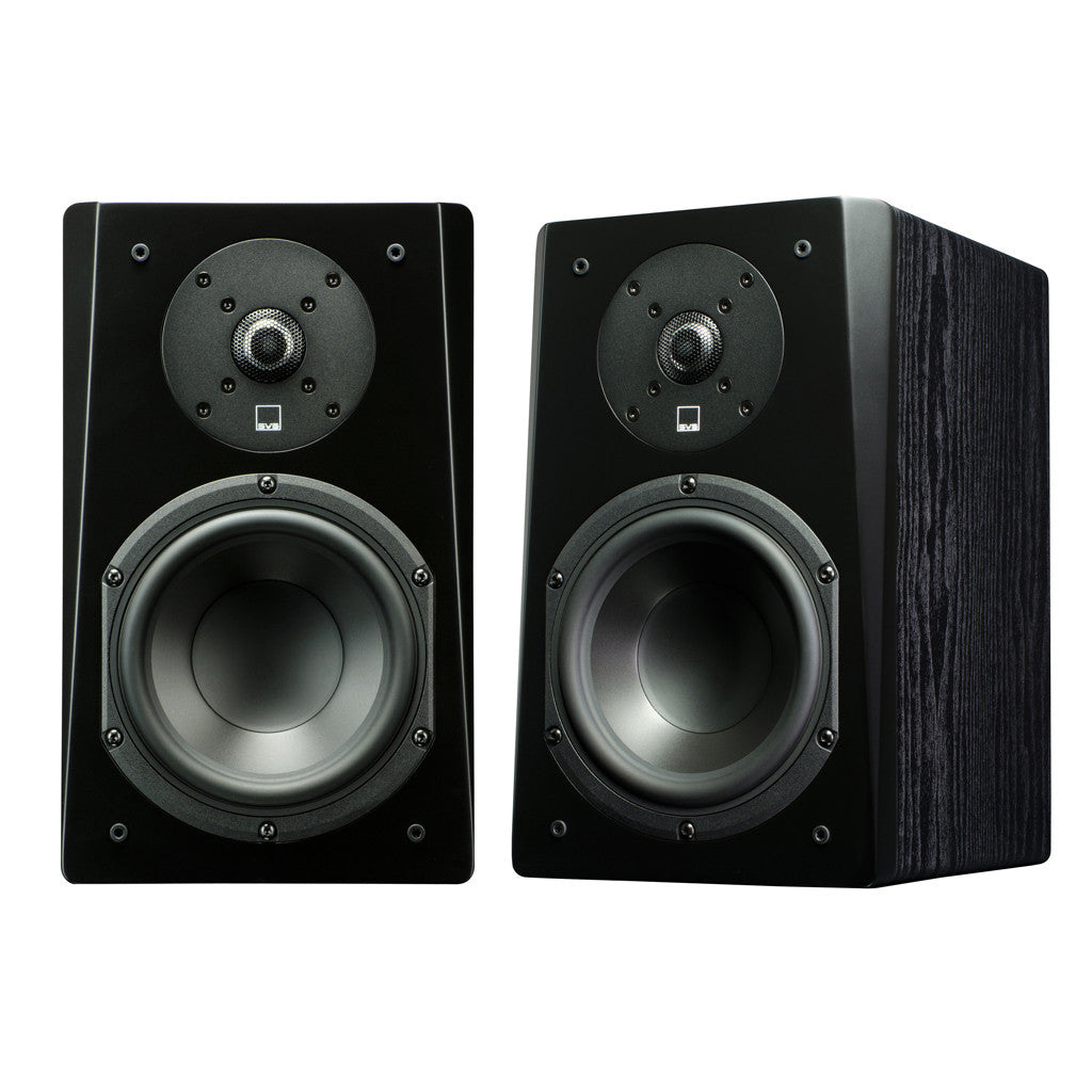 Bookshelf Speaker in Premium Black Ash