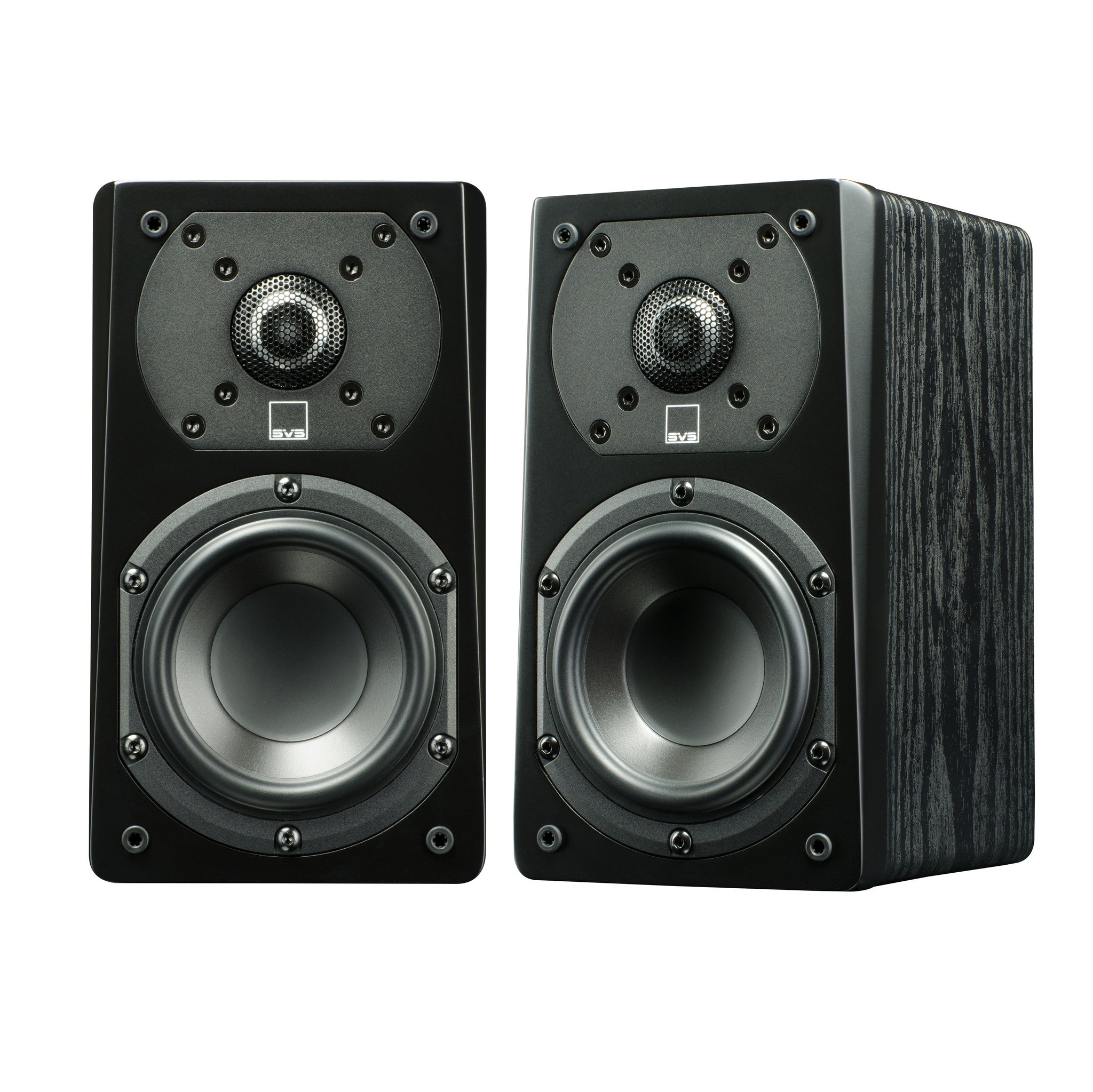 Satellite Speaker in Premium Black Ash