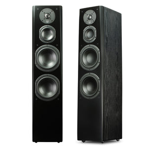 Tower Speaker in Premium Black Ash