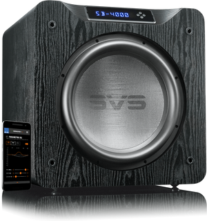 SB-4000 Subwoofer in Premium Black Ash