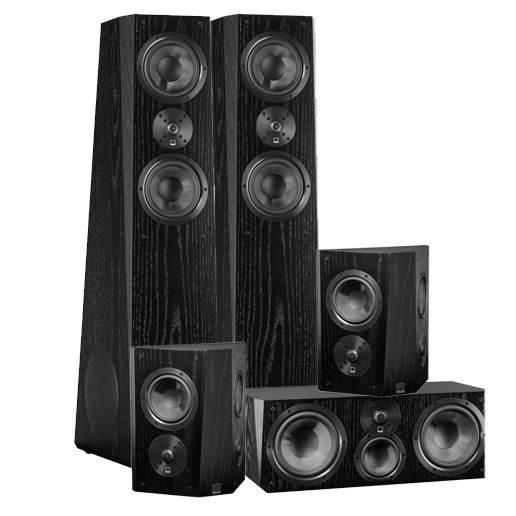 Svs Ultra Tower Surround Sound System Home Theater Speakers