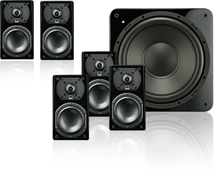 SVS: Prime Satellite 5.1 Home Theater Speaker System