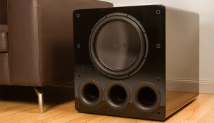 Subwoofer. Links to the subwoofer Outlet Specials page.