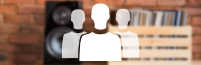 3 people icon. Links to the About Us page.