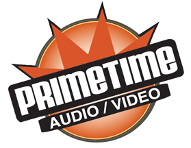 PrimeTimeAV dealer logo. Links to the SVS dealer page.