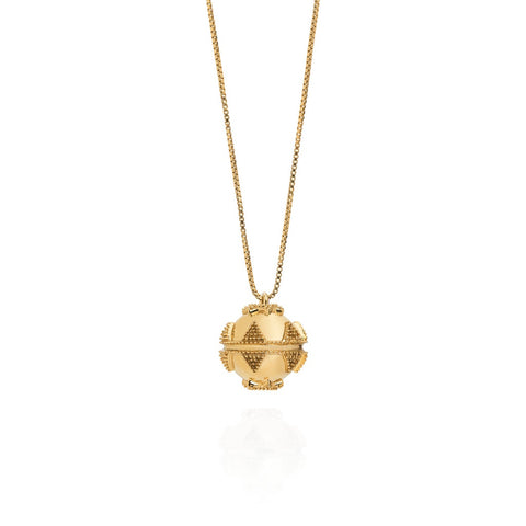 Gold Bella Ball Pendant