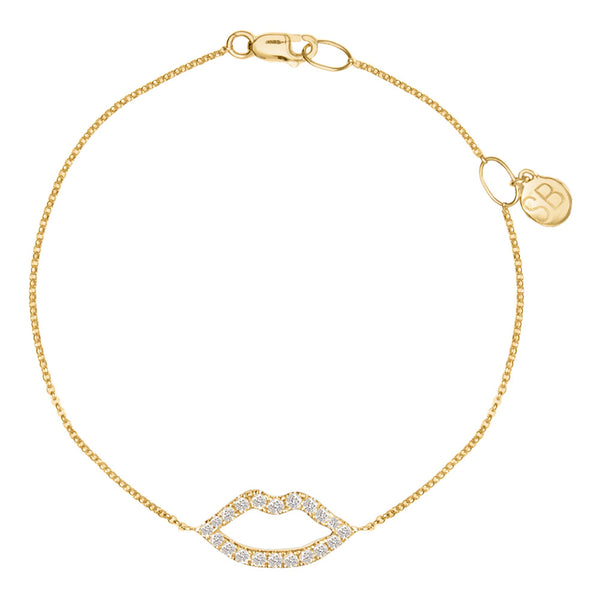 Haute Pout Gold and Diamond Bracelet