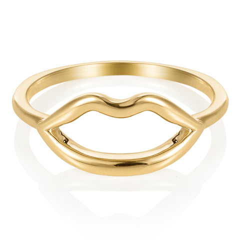 Haute Pout Gold Ring