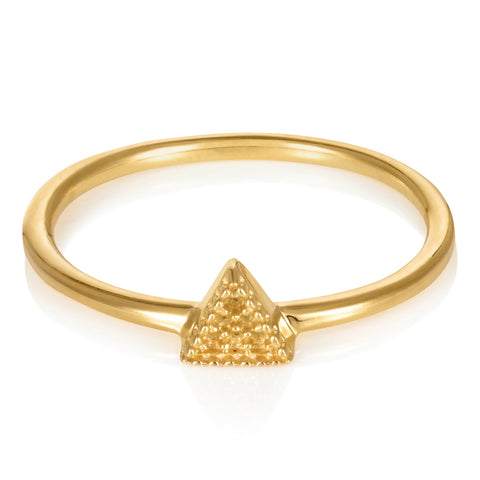 Gold Bella Tri Ring