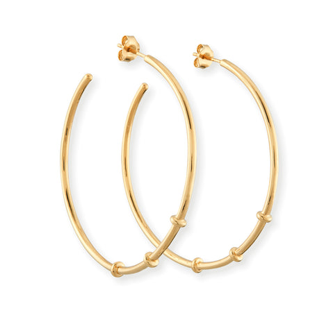 SB LONDON BamBar Hoop Earring