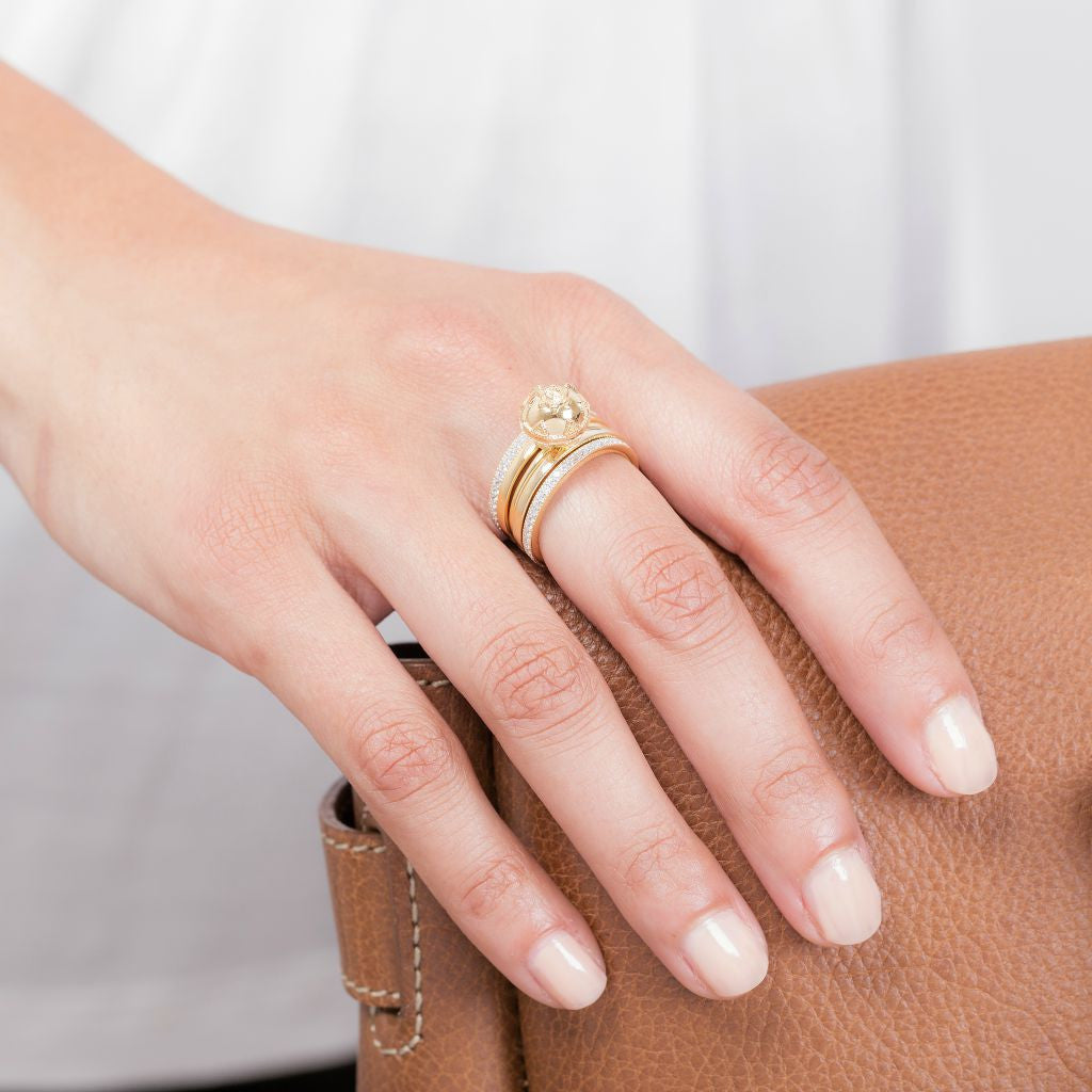 Gold Stacking Ring – SB LONDON