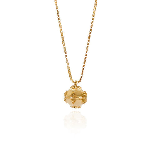 Gold Mini Bella Ball Necklace