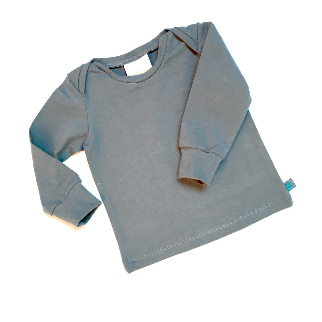 *choose colour** organic solid colour top, baby top, toddler top, childrens top