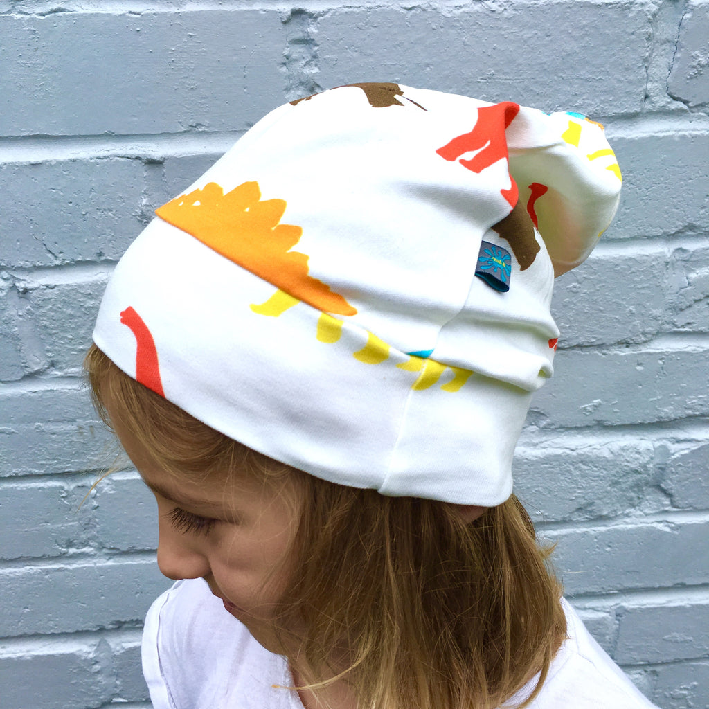 Dinosaur beanie multi-colour