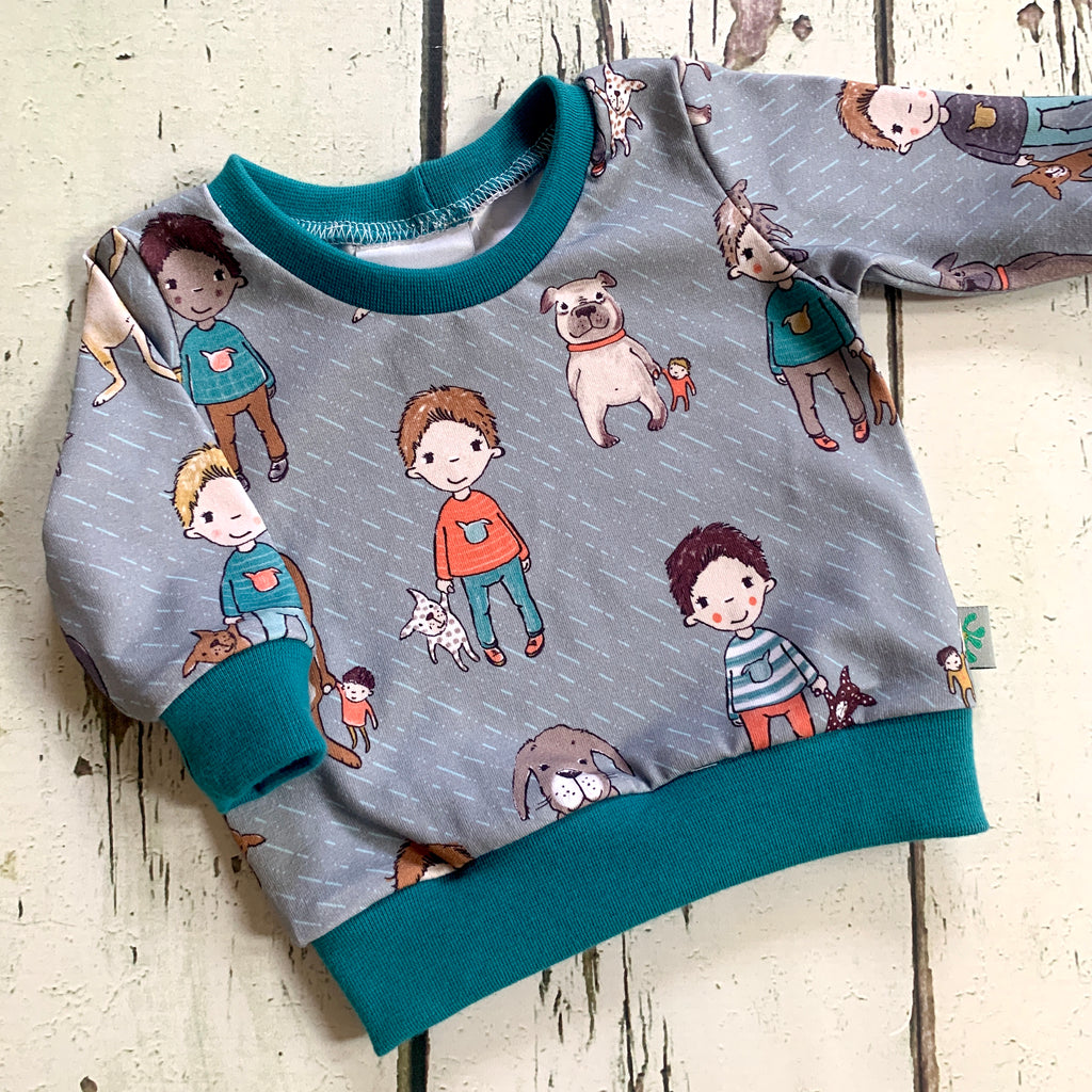 NEW!  Best Friends Jumper! Organic, stretchy cotton