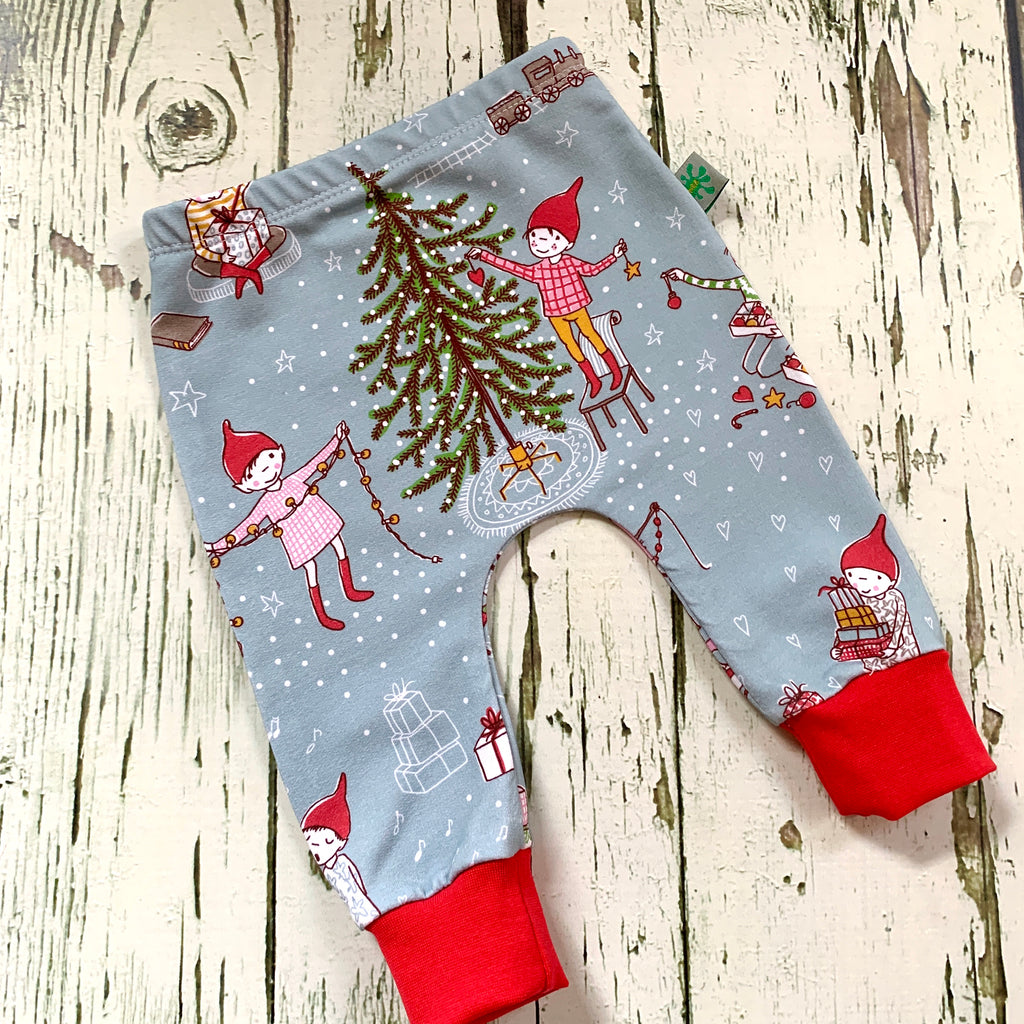 NEW Baby clothes, Christmas gnomes baby leggings, baby clothes, leggings, girl leggings, boy leggings, baby trousers, baby pants