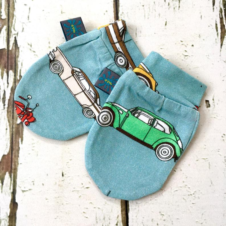 Retro Cars Baby Leggings