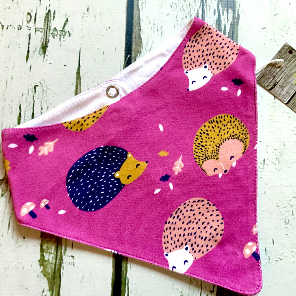 Organic hedgehog top, baby jumper, toddler jumper