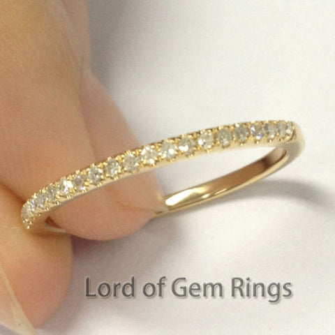 bands gold ring round yellow channel diamond set womens band wedding