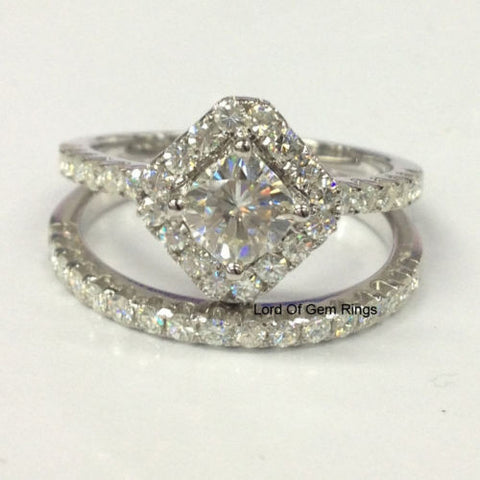 Reserved for Matt, shipping cost, matching accent stones for Moissanite Engagement Ring - Lord of Gem Rings - 1