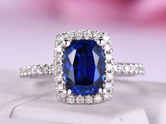 Sapphire Engagment Rings