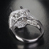 Reserved for shaifi, Custom Diamonds Engagement Semi Mount Ring - Lord of Gem Rings - 2