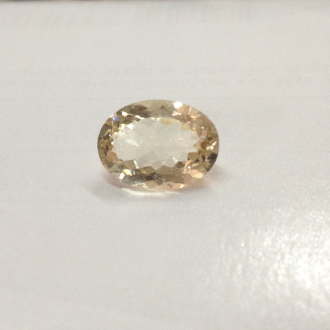 Reserved for Jennifer, oval  Morganite loose stone