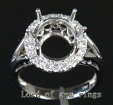 Reserved for masherita,Custom Made Engagement RIng Semi Mount for Oval stone - Lord of Gem Rings - 2