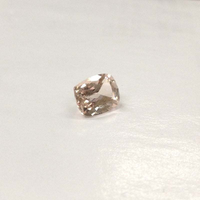 Reserved for Nancy, Peach Cushion Morganite Ring,Stone SKU: cu10.14-1.850.05 - Lord of Gem Rings - 1