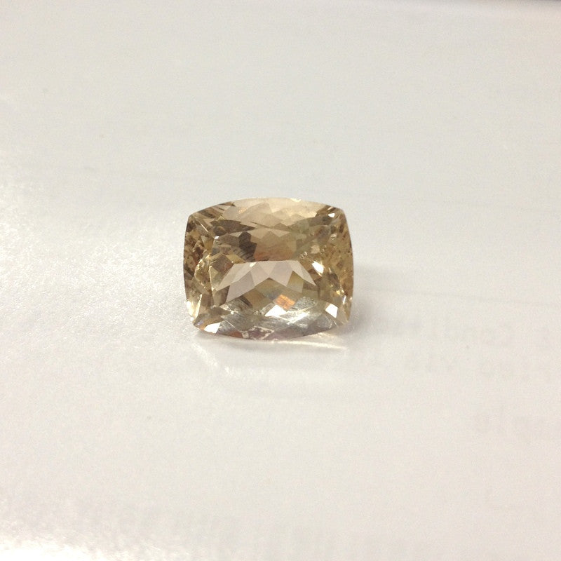 Reserverd for suesivycottage2011 Cushion Morganite Engagement Ring Diamond 14K Gold 10x12mm - Lord of Gem Rings - 1