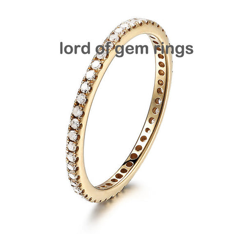Upgraded Diamond Wedding Bands Lord of Gem Rings